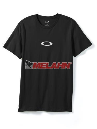 OAKLEY T-Shirt: Ellipse Me, schwarz,