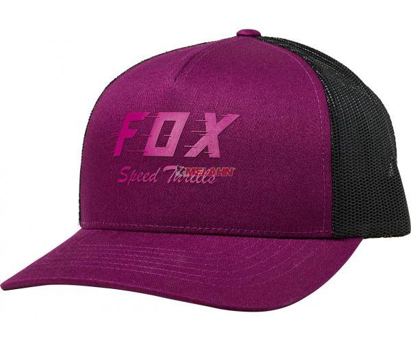 FOX Girls Trucker Cap: Speed Thrills, lila