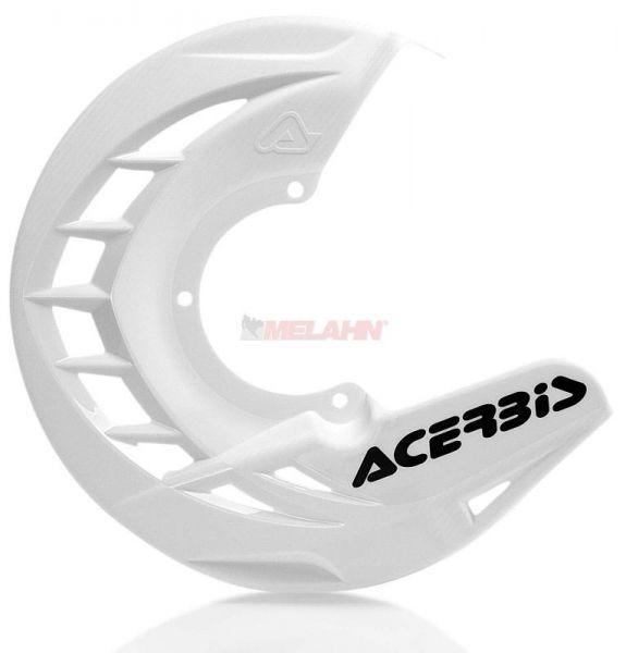 ACERBIS Kunststoff-Bremsscheibenschutz vorne: X-Brake , weiß