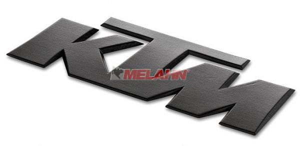 KTM 3D-Aufkleber, schwarz, 1 Stück