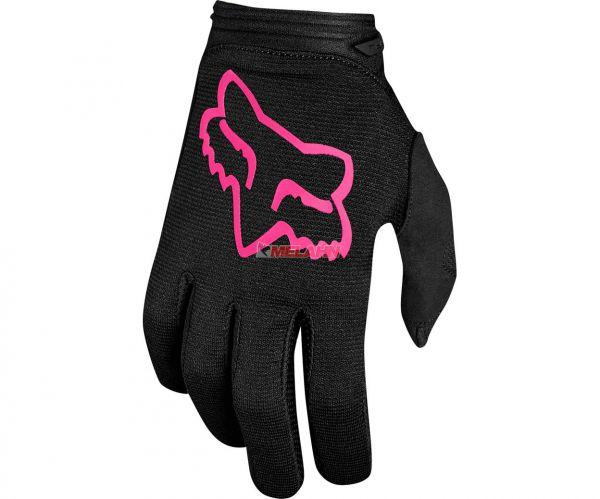 FOX Girls Handschuh: Dirtpaw , schwarz/pink