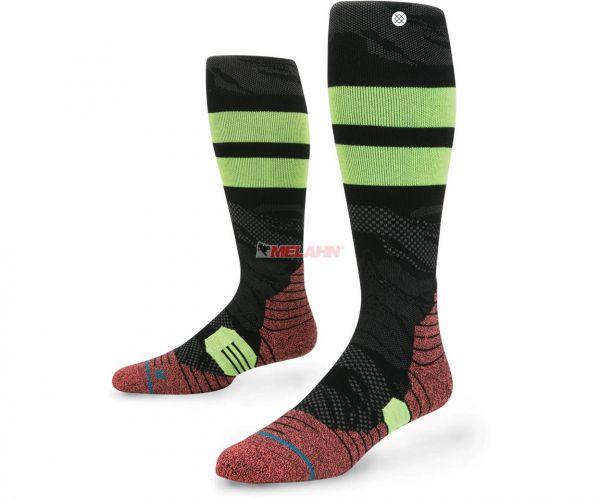 STANCE Socke (Paar): Cahuilla, schwarz/gelb/rot