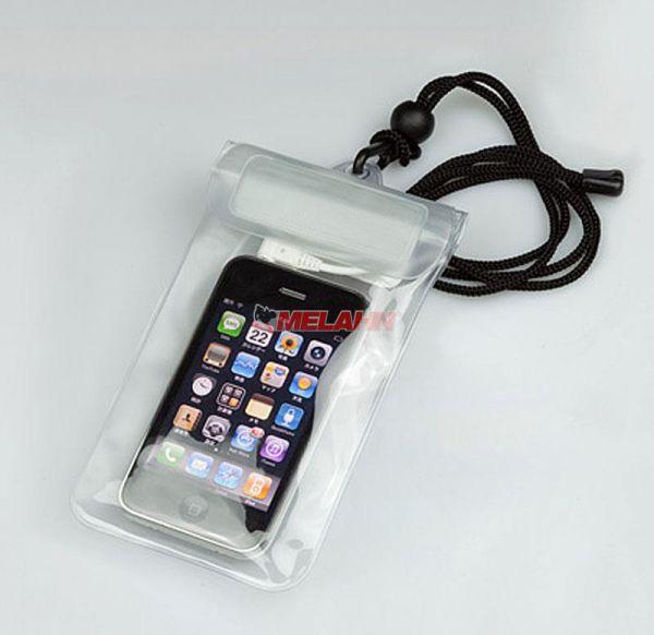 MT Handy Case: Beachbag 185x100mm, transparent