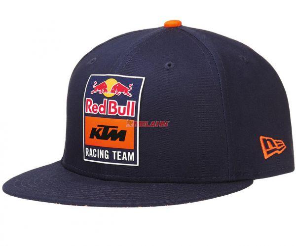 KTM RED BULL Snapback Cap: Racing Team, blau