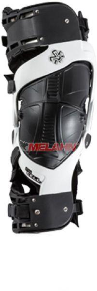 ASTERISK Knee Brace (Paar): ULTRA CELL™ BOA™, weiß