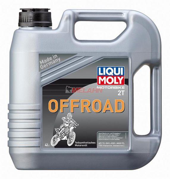 LIQUI MOLY Motoröl: Motorbike 2T Offroad, 4l