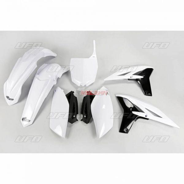 UFO Plastik-Kit YAMAHA YZF 250 10, weiß