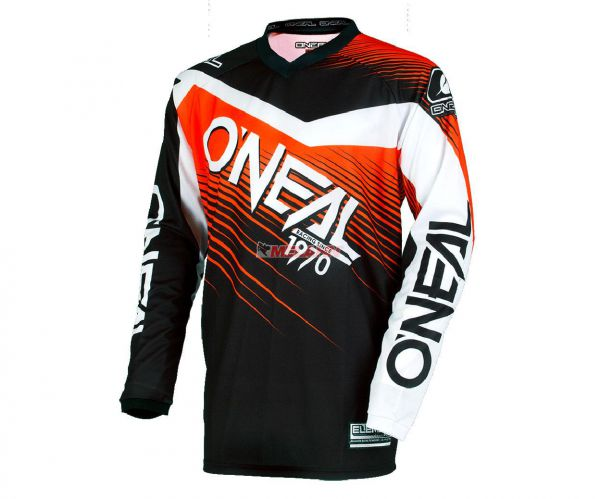 ONEAL Jersey: Element Racewear, schwarz/orange