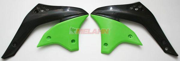 UFO Spoiler (Paar) Kühlerverkleidung KXF 450 2006, grün05