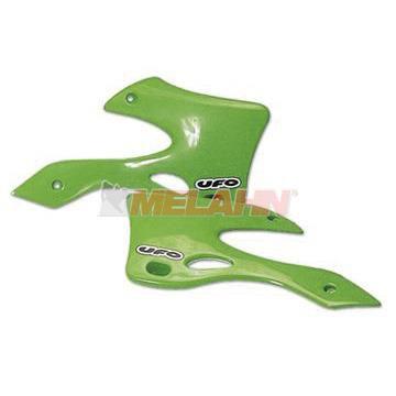 UFO Spoiler (Paar) Kühlerverkleidung KXF 450 2007, grün05