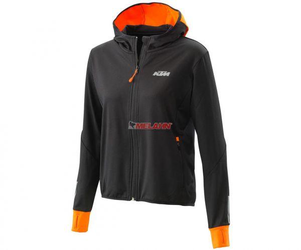 KTM Girls Jacke: Emphasis, schwarz/orange