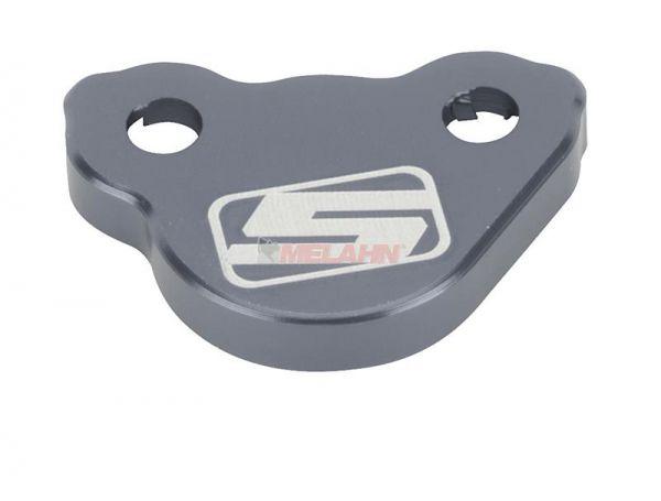 SUNLINE Aluminium-Deckel Fußbremszylinder, titan, KF/KXF/RM/RMZ