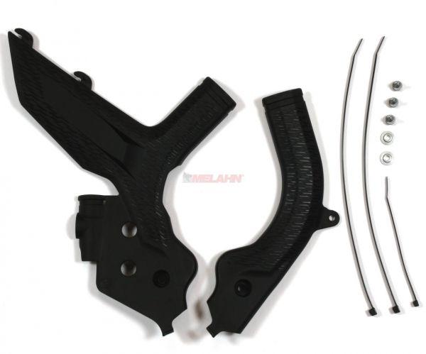 KTM Rahmenschutz-Set (Paar) SX 2019-, schwarz