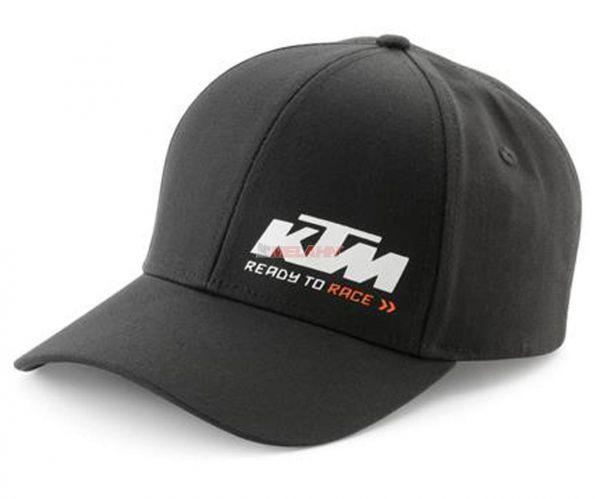 KTM Cap: Racing, schwarz