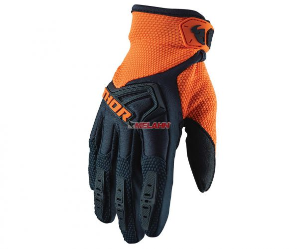 THOR Handschuh: Spectrum, midnight/orange