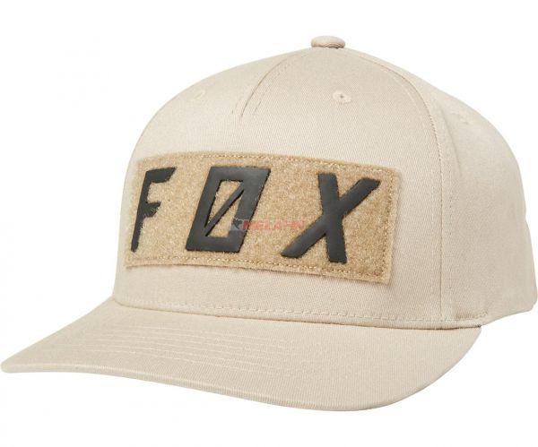 FOX Snapback Cap: Backslash, sand