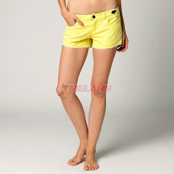 FOX Girls Boardshorts: Syren, gelb