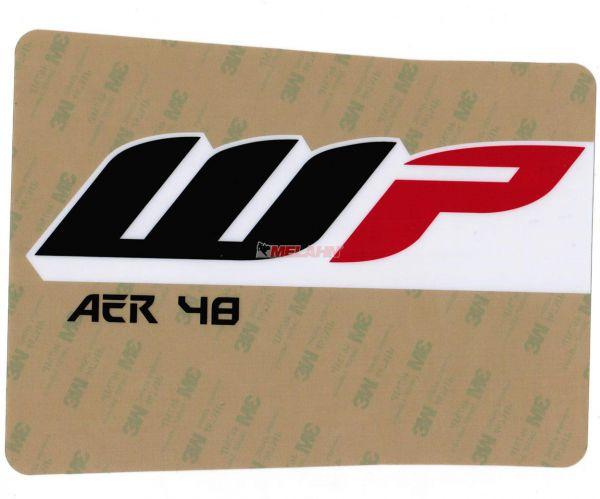 KTM Gabel-Aufkleber WP AER 48 (Paar) klar, 48mm
