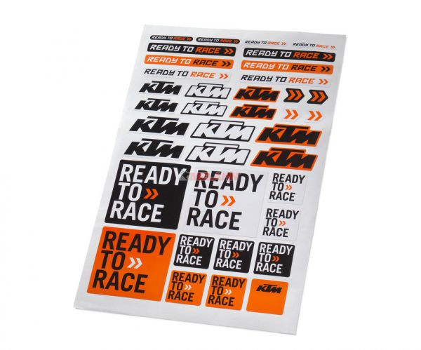 KTM Aufkleber: Corporate Sticker Sheet