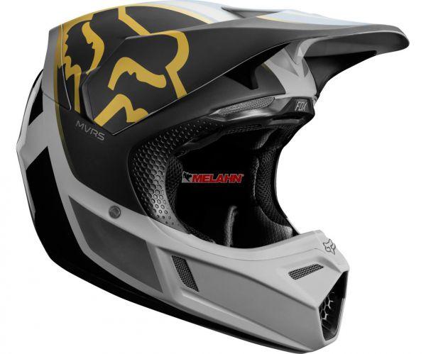 FOX Helm: V3 Kila, schwarz/grau
