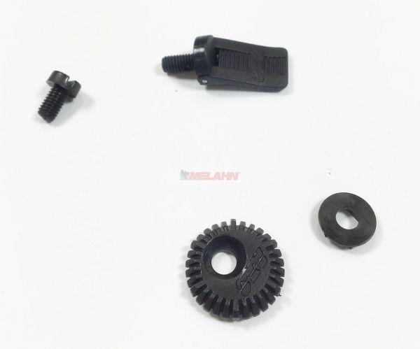AXO Plastik-Helmschraube für MXO/MMO, schwarz