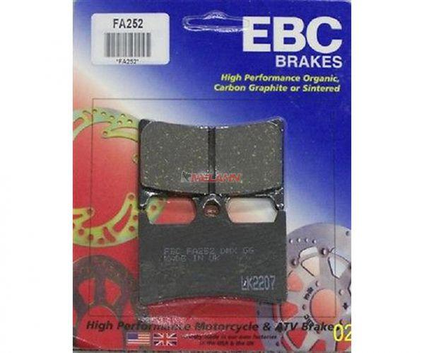 EBC Bremsklötze FA252 für YAMAHA