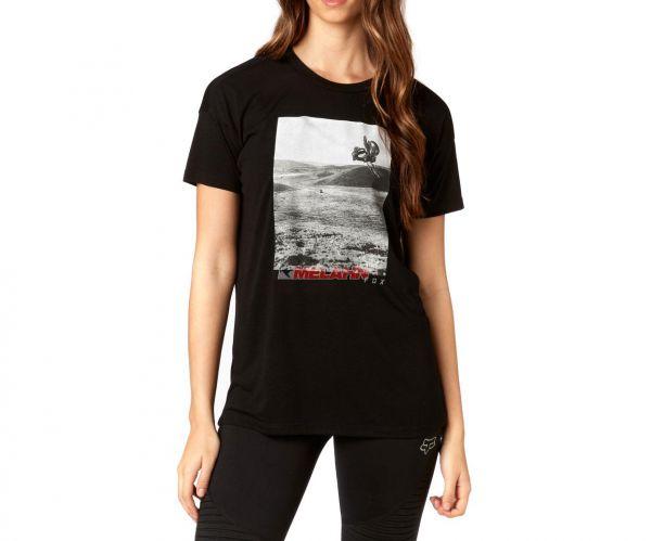 FOX Girls T-Shirt Picogram, schwarz