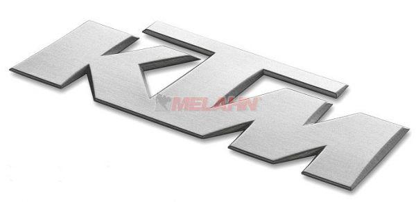 KTM 3D-Aufkleber, silber, 1 Stück