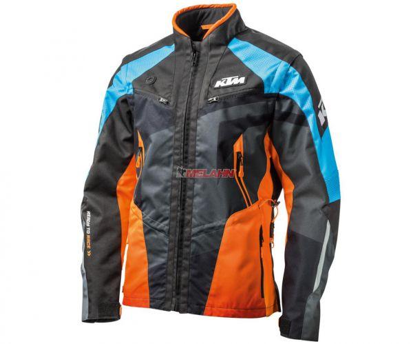 KTM Jacke: Racetech, schwarz/orange/blau