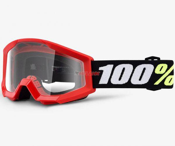 100% Kids-Brille: Strata Mini, rot