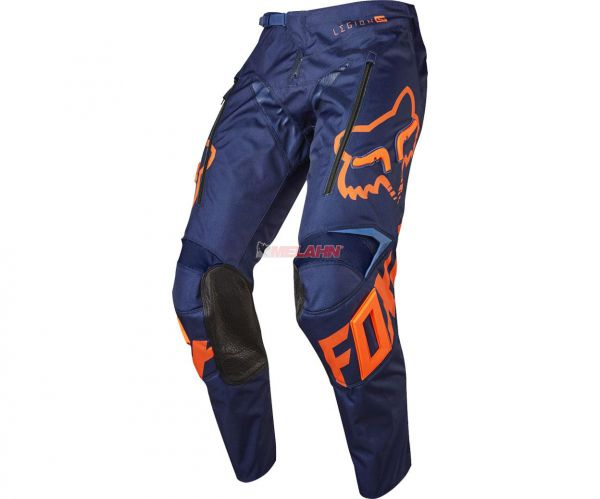 FOX Hose: Legion Lt, blau/orange
