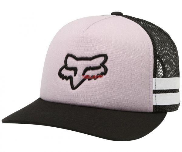 FOX Girls Trucker Cap: Head Trik, schwarz/rosa