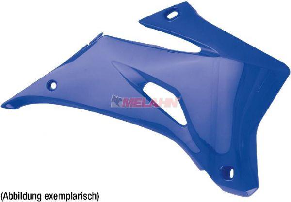 POLISPORT Spoiler (Paar) Kühlerverkleidung YZF 250/450 03-05, blau