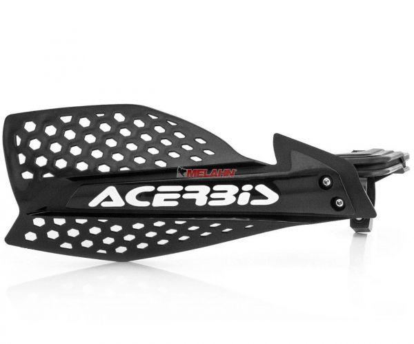 ACERBIS Handprotektor (Paar): X-Ultimate, schwarz/weiß