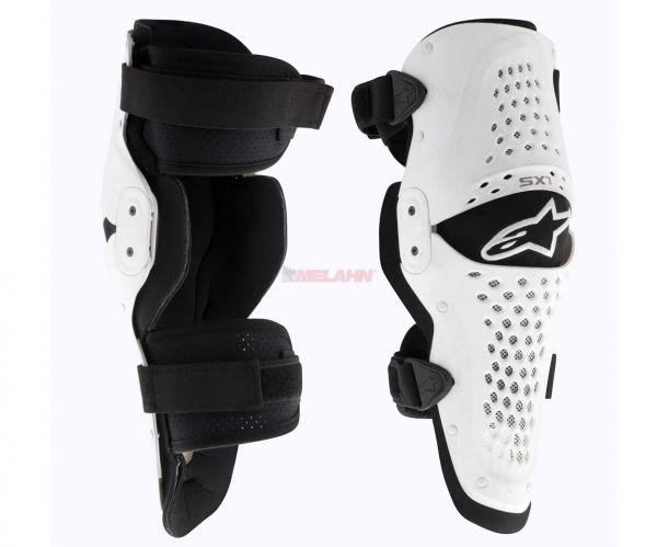 ALPINESTARS Knieprotektor (Paar): SX1, schwarz/weiß