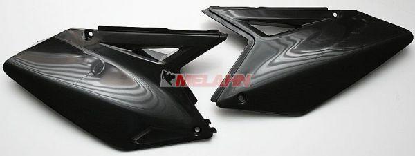 UFO Seitenteile (Paar) RMZ 250 07-09, schwarz