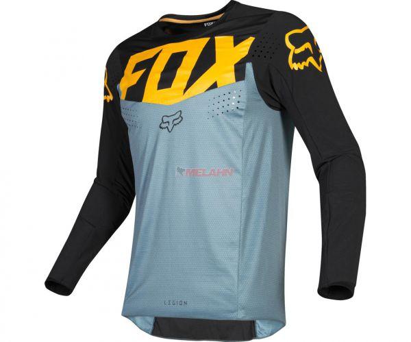 FOX Jersey: Legion, light slate/schwarz/gelb