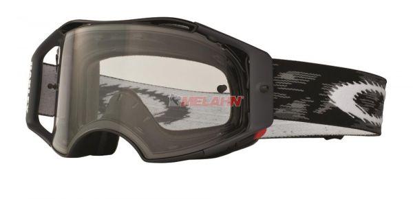 OAKLEY Brille: Airbrake MX, Jet Black Speed, schwarz