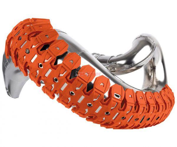 POLISPORT Universal-Auspuffschutz 2-Takt Armadillo, orange