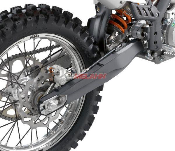 KTM Plastik-Schwingenschutz (Paar), schwarz