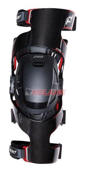 POD MX Knee-Brace K700 (links), Carbon, Gr. S