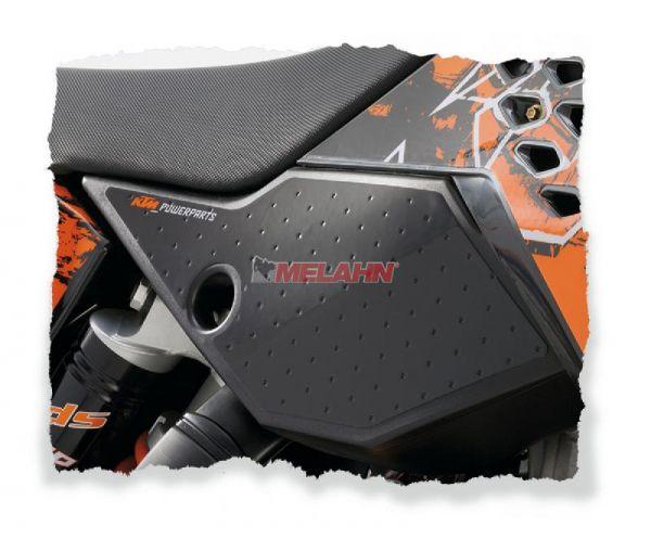 KTM Tankaufkleber (Paar) EXC 2008-2010, schwarz