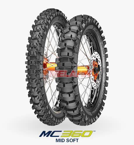METZELER Reifen: MC 360 Mid Soft 110/90-19 (mit Straßenzulassung)