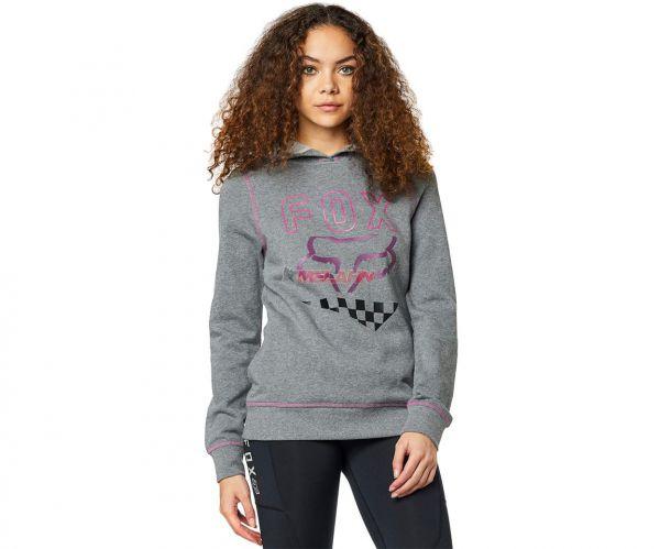 FOX Girls Pullover: Richter, grau
