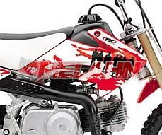 FX Tankdekor Hit Man CRF 50 04-