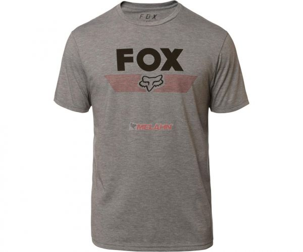 FOX Tech T-Shirt: Aviator, hellgrau