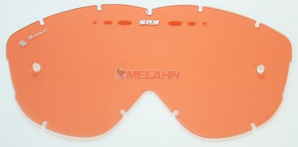 SPY Ersatzglas Alloy/Targa MX mit Pins, orange