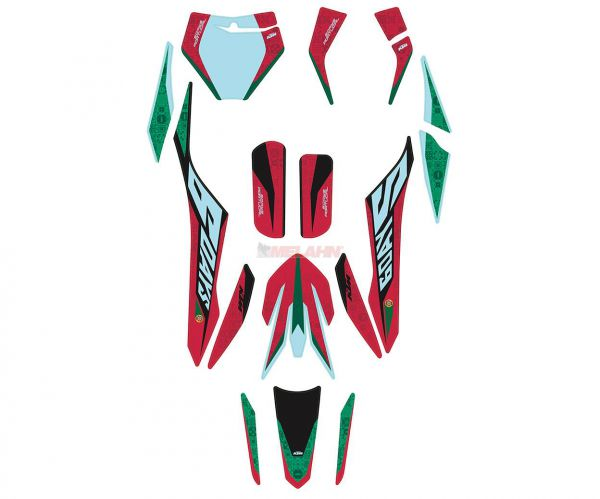 KTM Dekor-Kit Six-Days Portugal 2020, EXC 2020-