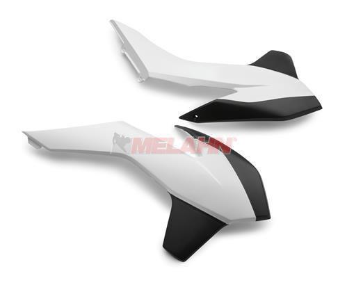 KTM Spoiler (Paar) ohne Dekor, SX/SMR 13-15 / EXC 14-16, weiß 2011