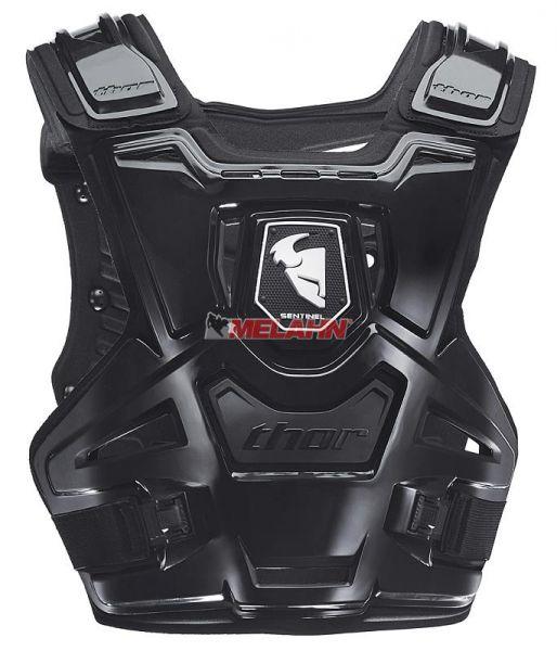THOR Brustpanzer: Sentinel, schwarz